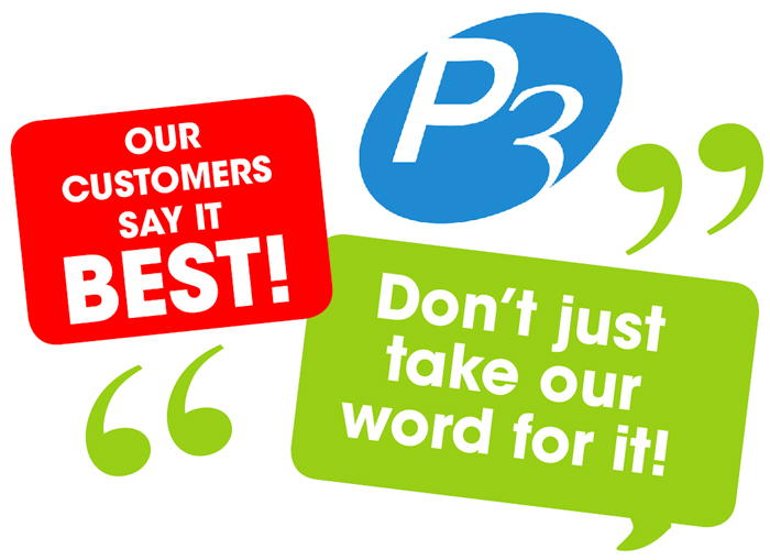 P3 Customers say it best