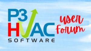 P3 HVAC Software Facebook User Group